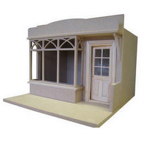 Shop Front Facade - 1:12 Scale Kit