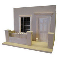 House Front Facade - 1:12 Scale Kit