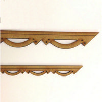 Decorative Barge Board Moulding - MDF