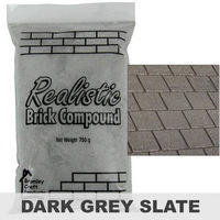 Realistic Brick Compound - Dark Grey / Slate