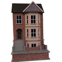 Decorated Bay View House & Basement (1:24 scale)