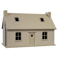 Crofters Cottage - Unpainted Kit 1:12 scale