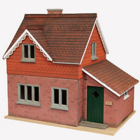 Hurstwood Cottage Dolls House Kit (1:12 scale)