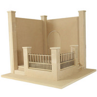 Walled Garden Kit (1:12 scale)