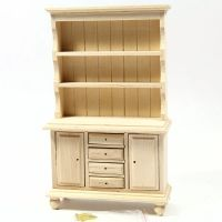 Welsh Dresser - 1:12 Scale - Plain Wood
