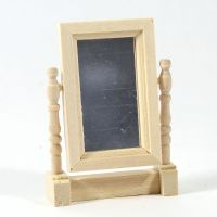 Natural Wood Swivel Mirror