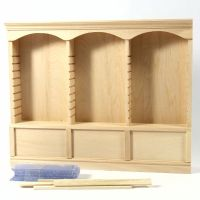 Triple Deluxe Dolls House Shelves