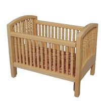 Large Cot - Plain Wood