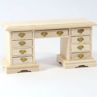 12th Scale Kneehole Desk
