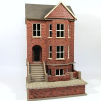 Bay View House & Basement (1:24 scale) Ex-Display