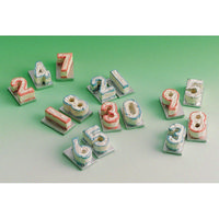 Dolls House Number Cake '0' Pack of 3