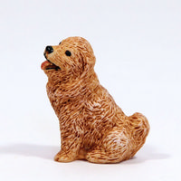 Golden Retriever Small Dog Figure