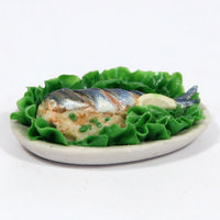Large Fish Platter for Dolls House