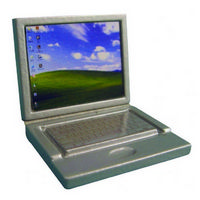 Dolls House Laptop Computer - Silver