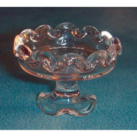 Dolls House Glass Cake Stand