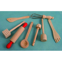 Wooden Kitchen Accessories - 1:12 scale