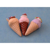 Ice Cream Cones pk 3
