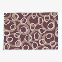 Dolls House Rug - Modern - Brown - Medium