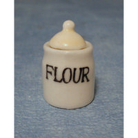 Glazed Flour Crock