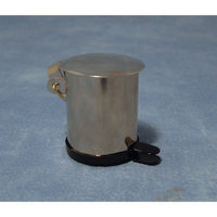 Stainless Steel Pedal Bin - 1:12 Scale