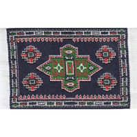 Woven Turkish Dolls House Rug - Mini
