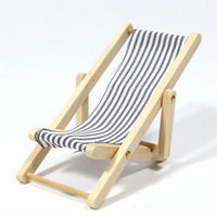Miniature Blue Deck Chair