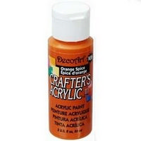 Crafters Acrylic - 59ml Acrylic - Orange Spice
