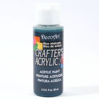 Crafters Acrylic - 59ml Acrylic Paint - Midnight Blue