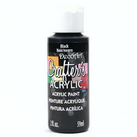 Crafters Acrylic - 59ml Acrylic Paint - Black