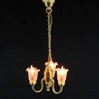 3 Light Chandelier for 1:12 scale Dolls House
