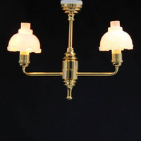 Double Large Tulip Light for Dolls House - 1:12 scale