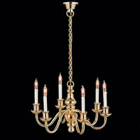 6 Arm Dolls House Chandelier Light (LT8004)