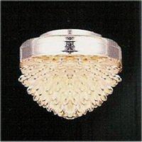 Silver Glass Effect Ceiling Light (LT4009)
