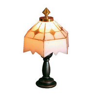 Tiffany Style Lamp - White Shade