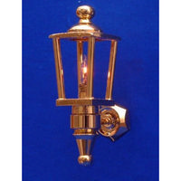 Brass Dolls House Coach Lamp (LT2022)