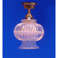 Ceiling Lamp with Crystal Effect Shade