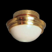 Ceiling Globe Light - LED - Plus Battery