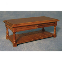 Dolls House Oak Potboard Coffee Table