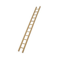 Wooden 300mm Ladder for 12th Scale Dolls House