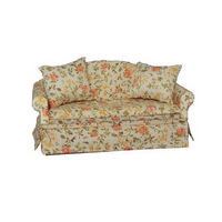 Floral Sofa for Dolls House