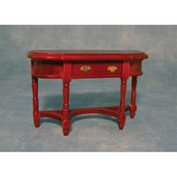 Dolls House Hall Table (Curved Front)