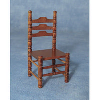 Ladder Back Dolls House Chairs x6
