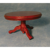 Mahogany Round Table for Dolls House