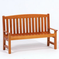 Miniature Garden Wooden Bench