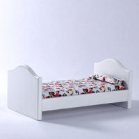 Childs Single Bed for Dolls House