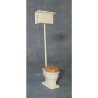 High Level Dolls House Toilet