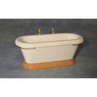 Dolls House Bath with Side Taps