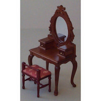 Dolls House Dressing Table with Stool