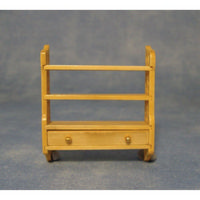 Small Wall Shelf Unit for Dolls House