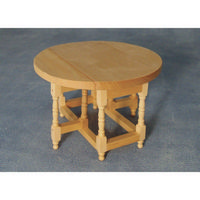 Dolls House Pine Gate Leg Table